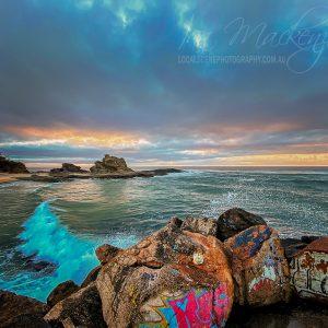 Wellington Rock at the V-wall